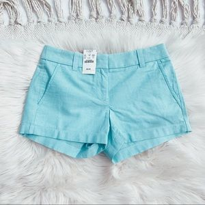 NWT J. Crew Factory Blue Shorts